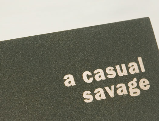 Casual Savage, a book about Charles F. Lummis